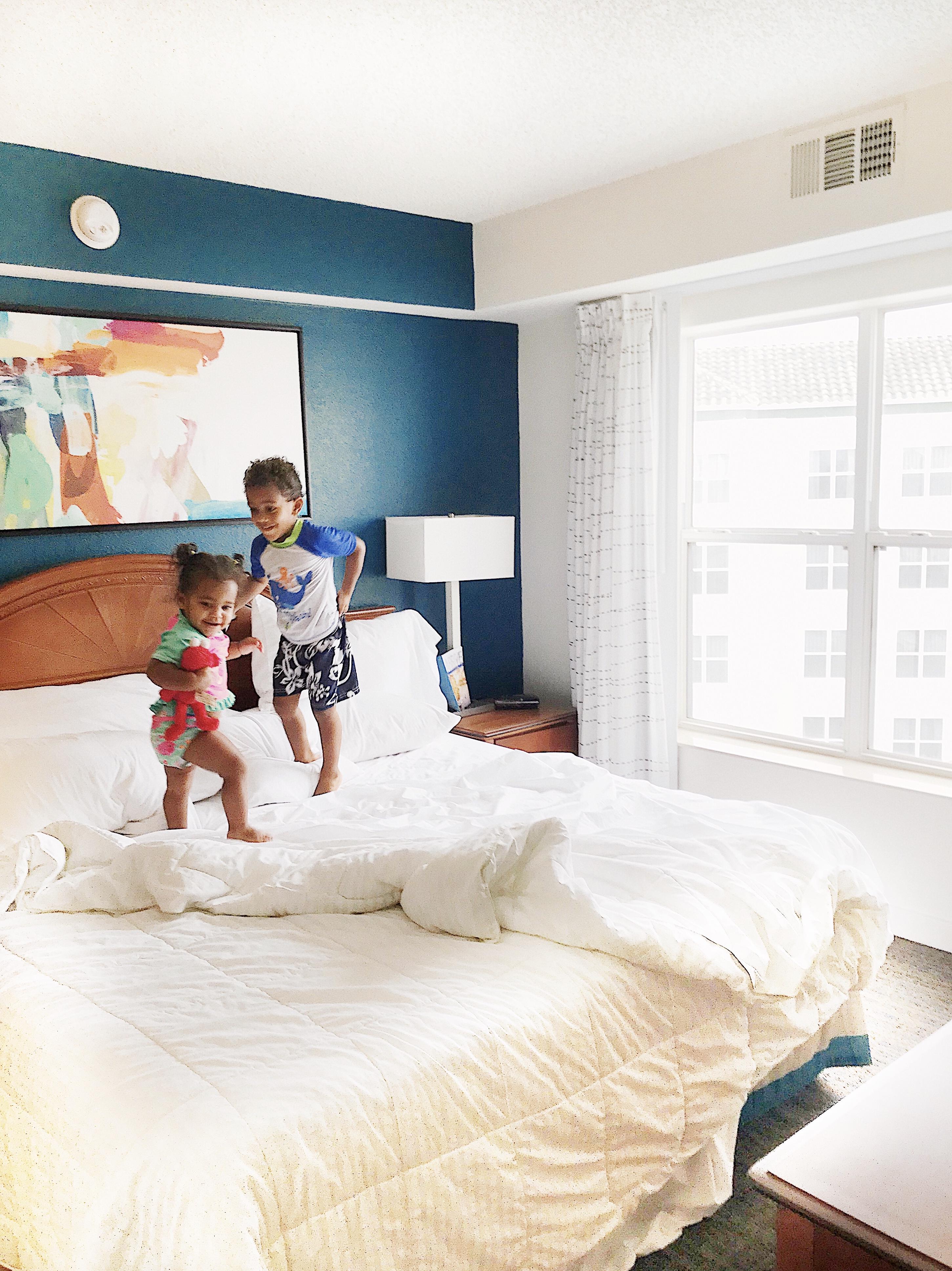 Hotel Room at Residence Inn Orlando Lake Buena Vista